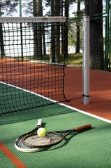 tennisracket bespannen